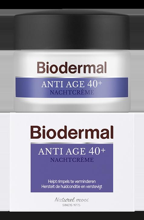 Biodermal Anti Age 40+ Nachtcreme
