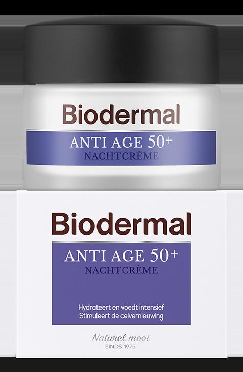 Biodermal Anti Age Nachtcreme 50+