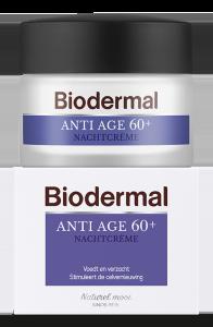 Biodermal Anti Age Nachtcreme 60+
