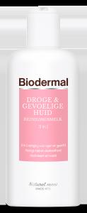 Biodermal Reinigingsmelk Droge & Gevoelige Huid