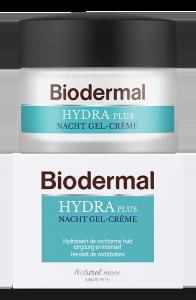 Biodermal Hydra Plus Nacht Gel-Creme