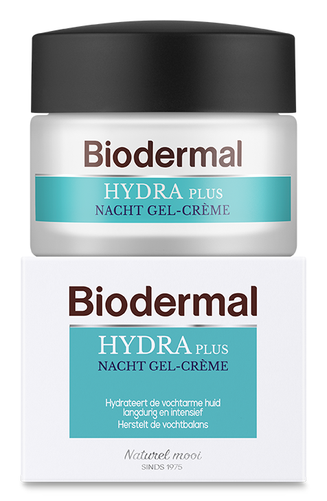 Biodermal Hydra Plus Nacht Gel-Creme