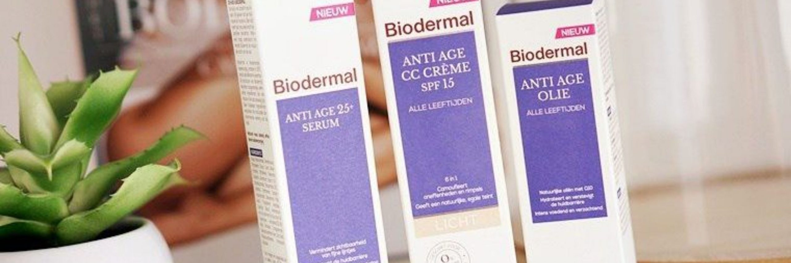 Test & Tell: Vernieuwde Biodermal Anti Age producten