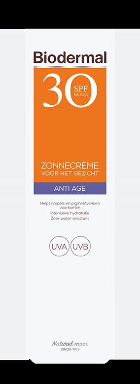 Anti Age zonnecrème gezicht SPF30 box