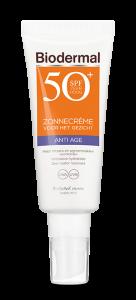 Anti Age zonnecrème gezicht SPF50+ tube