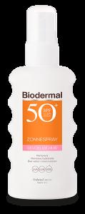 Gevoelige huid zonnespray SPF50+