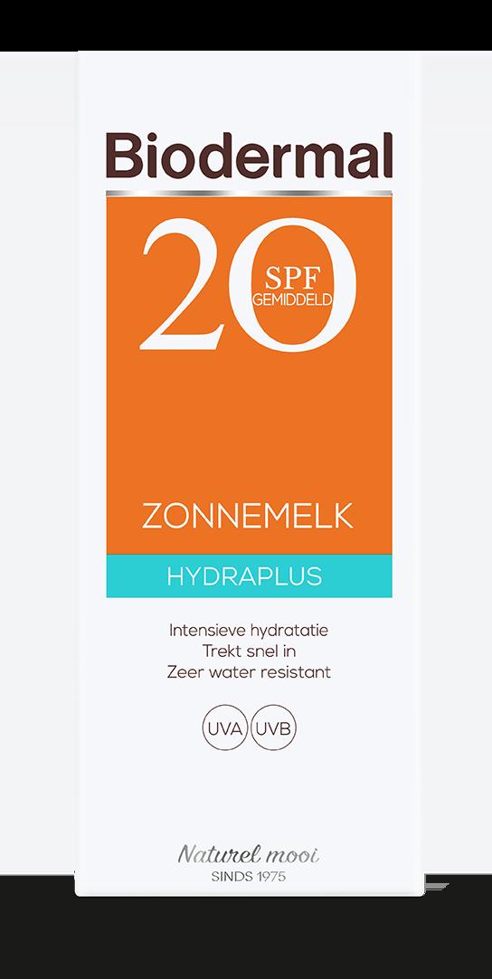 Hydra plus zonnemelk SPF20 box