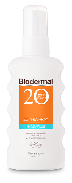 Hydra plus zonnespray SPF 20