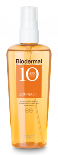 Product Biodermal Zonneolie SPF10