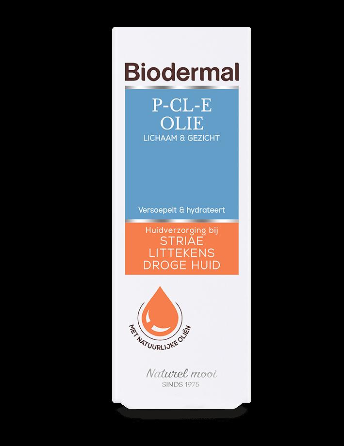 Biodermal doosje p-cl-e olie zonder achtergrond
