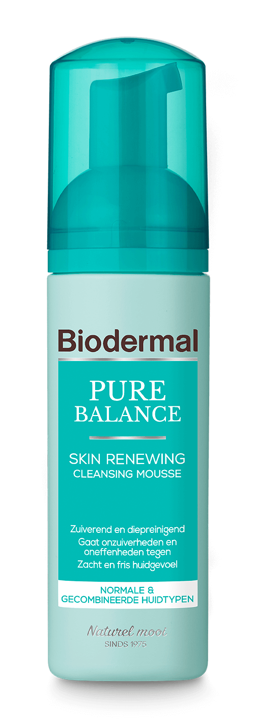 Pure Balance Skin Renewing Cleansing Mousse