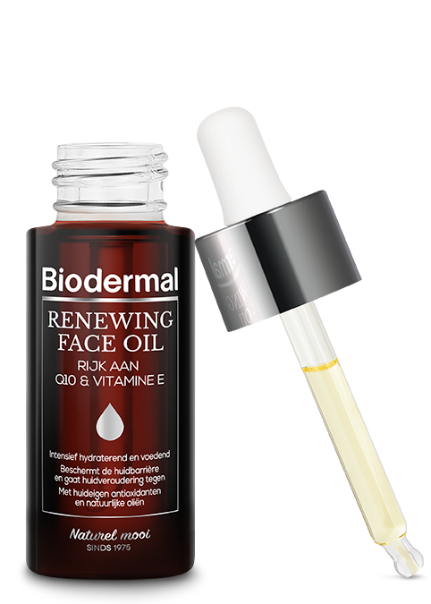 Biodermal product Renewing Face olie zonder achtergrond