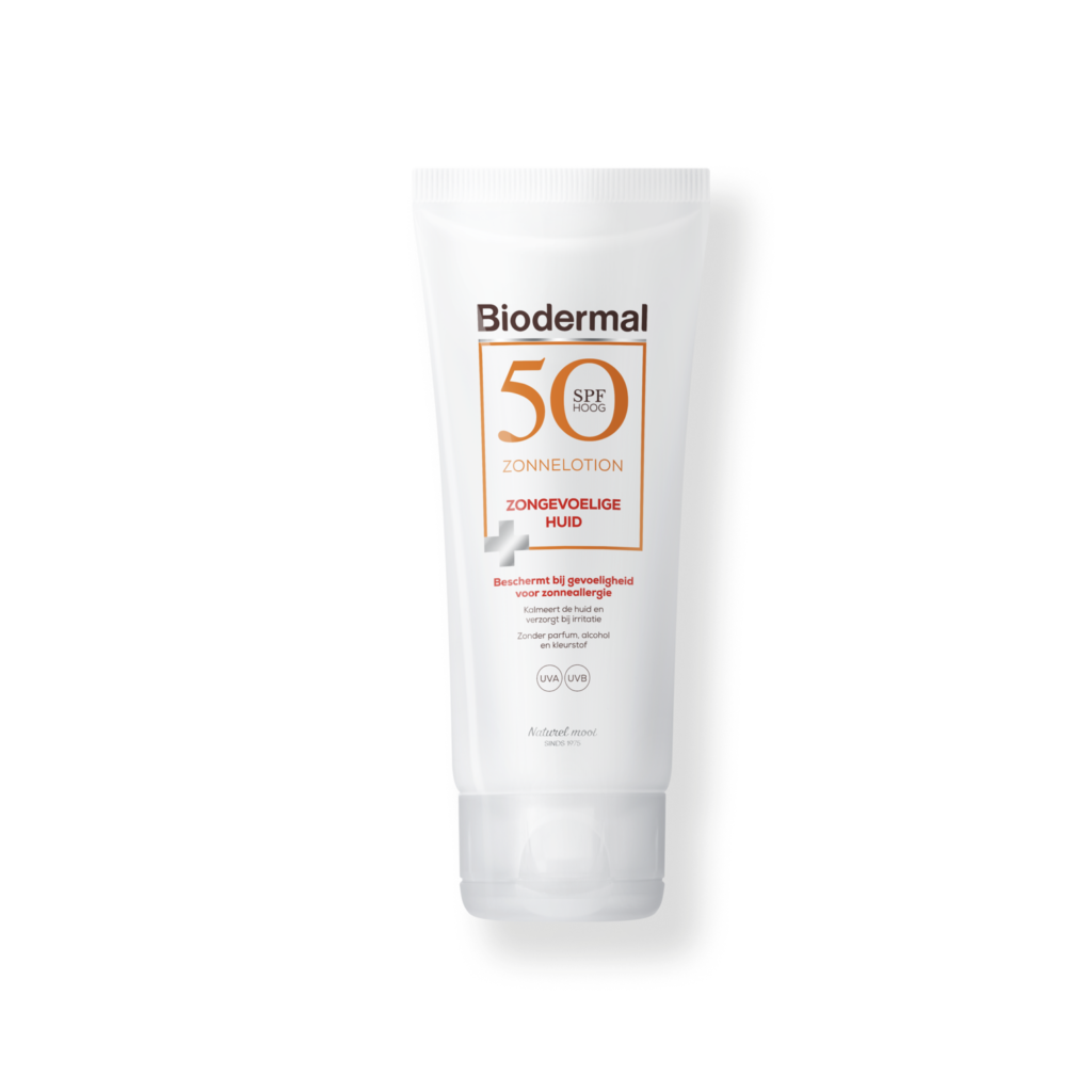 Zonnelotion voor de Zongevoelige Huid SPF 50